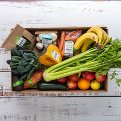 $70 Organic Fruit & Veg Box