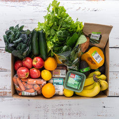 $100 Organic Fruit & Veg Box