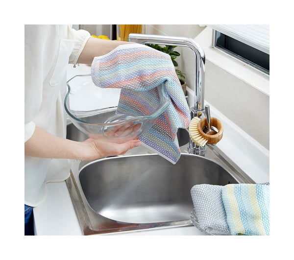 Full Circle - Tidy Dish Cloths (3 cloths, 12in x 12in)