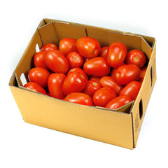 Tomatoes Egg (box 10kg) , Wholesale - HFM, Harris Farm Markets