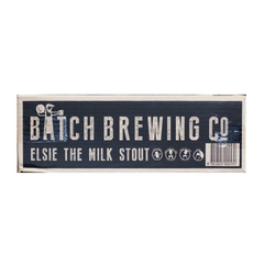 Batch Brewing Co - Beer Elsie the Milk Stout (Case Sale, 24 x 375mL)