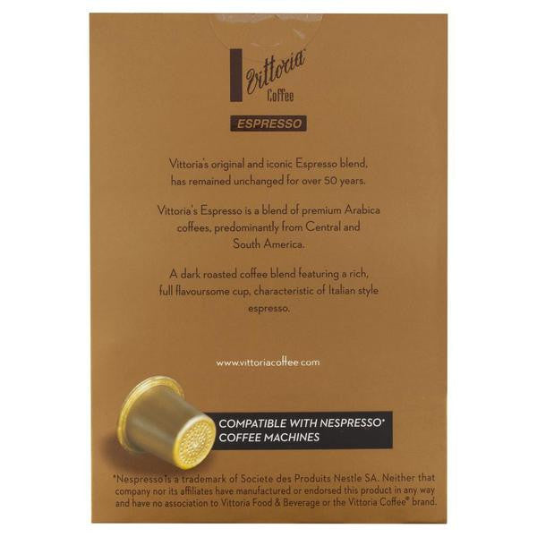 Vittoria Espresso Coffee Capsules Small 52g , Grocery-Coffee - HFM, Harris Farm Markets  - 2