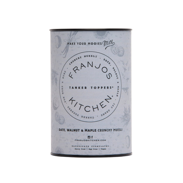 Franjos Kitchen - Muesli Date, Walnut and Maple Crunchy (360g)