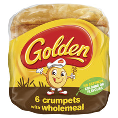 Golden Crumpets Wholemeal 6pk , Z-Bakery - HFM, Harris Farm Markets