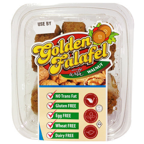 Golden Falafel Walnut 6pk , Frdg3-Meals - HFM, Harris Farm Markets