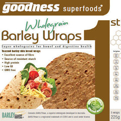 Goodness Barley Wraps 225g , Z-Bakery - HFM, Harris Farm Markets