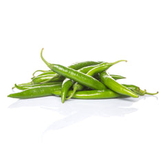 Chillies Hot Long Green (min 200g)