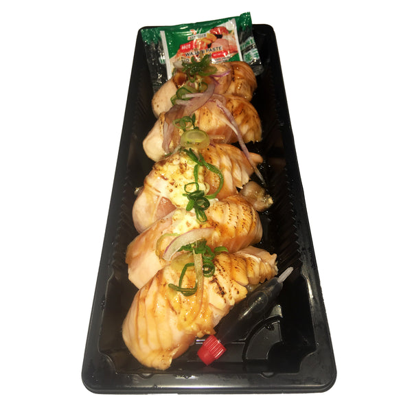 Sushi - Grilled Salmon (5 pieces in a tray)