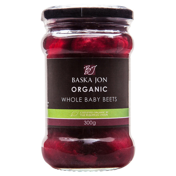 Baska Jon Organic Whole Baby Beetroot 300g , Grocery-Cooking - HFM, Harris Farm Markets  - 1