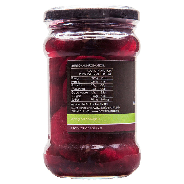 Baska Jon Organic Whole Baby Beetroot 300g , Grocery-Cooking - HFM, Harris Farm Markets  - 3