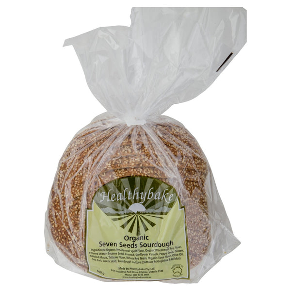Healthy Bake Organic Seven Seeds 600g , Z-Bakery - HFM, Harris Farm Markets  - 1