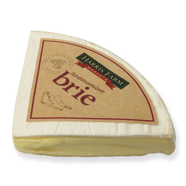 Brie Harris Farm 200-260g , Frdg1-Cheese - HFM, Harris Farm Markets  - 1