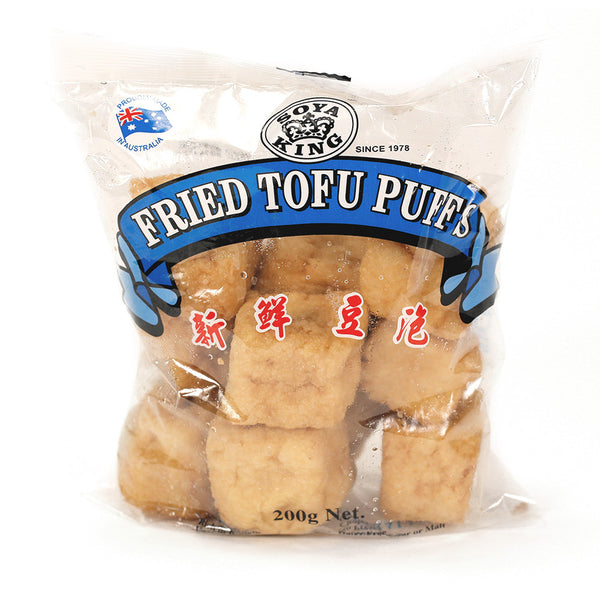 Soya King Fried Puffs Tofu 200g , Frdg3-Asian - HFM, Harris Farm Markets