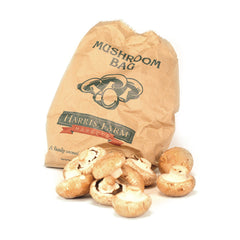 Mushrooms Swiss Brown (min 400g loose) , S12S-Veg - HFM, Harris Farm Markets