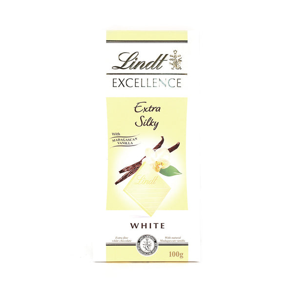 Lindt Excellence White Vanilla Chocolate 100g , Grocery-Confection - HFM, Harris Farm Markets