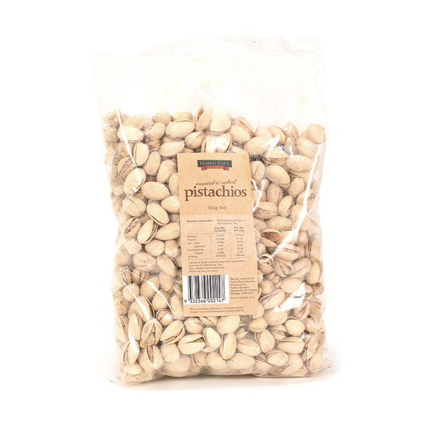 Harris Farm Pistachios Roasted & Salted 750g , Grocery-Nuts - HFM, Harris Farm Markets