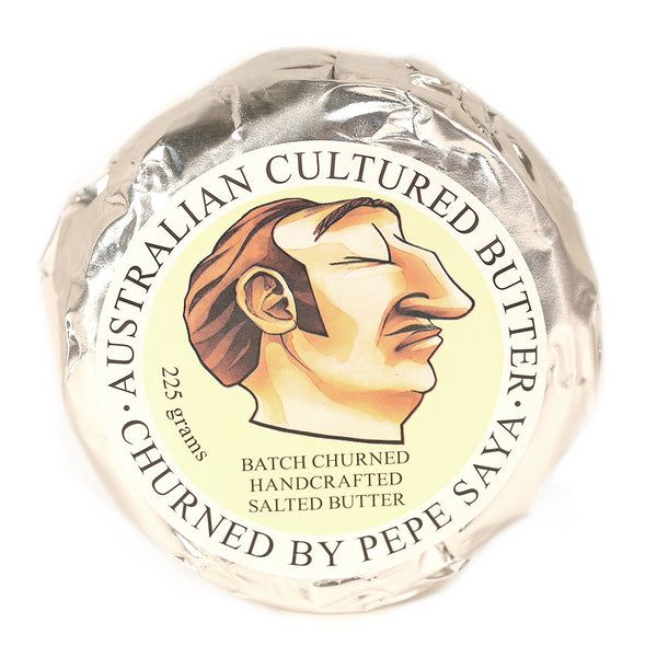 Pepe Saya Butter Salted 225g , Frdg2-Dairy - HFM, Harris Farm Markets