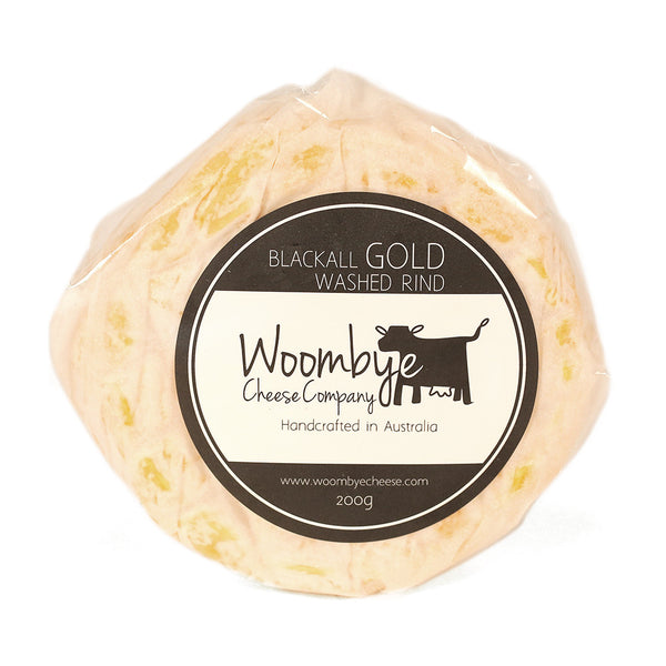 Washed Rind Black Gold Woombye 200g , Frdg1-Cheese - HFM, Harris Farm Markets