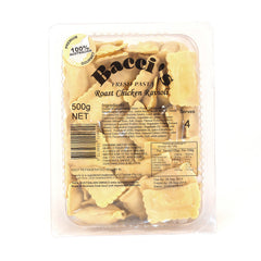 Baccis Roast Chicken Ravioli 500g , Frdg3-Meals - HFM, Harris Farm Markets