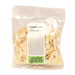 Market Grocer Almond Flakes 250g , Grocery-Nuts - HFM, Harris Farm Markets