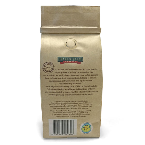 Harris Farm Coffee Beans Dolce Expresso 250g , Grocery-Coffee - HFM, Harris Farm Markets  - 2