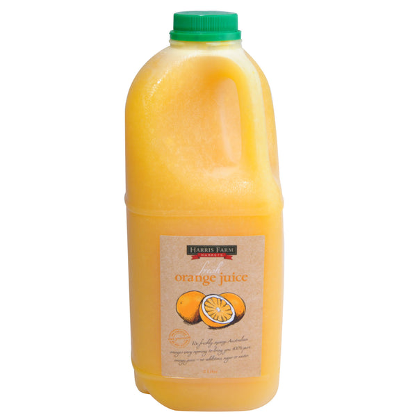 Harris Farm Fresh Orange Juice 2L , Frdg1-Drinks - HFM, Harris Farm Markets