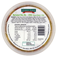 Harris Farm Olives Marinated Mix 250g