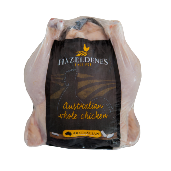 Chicken - Whole (1.2-1.8kg) Free Range - Hazeldenes , Frdg5-Meat - HFM, Harris Farm Markets