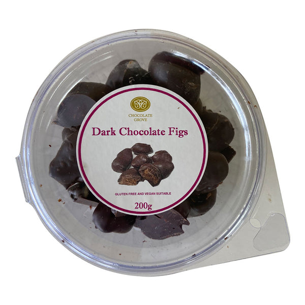 Choc Grove Dark Chocolate Figs | Harris Farm Online