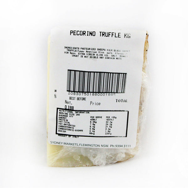 Pecorino Truffle 230g-320g Fresco , Frdg1-Cheese - HFM, Harris Farm Markets  - 2