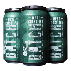 Batch Brewing Co - Beer West Coast IPA (4 x 375mL)