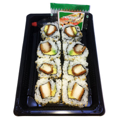 Sushi - Inside Out Roll - Chicken Schnitzel & Avocado (8 pieces in a tray)
