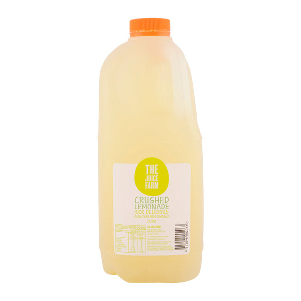The Juice Farm -  Crushed Lemonade Juice Large (2L)