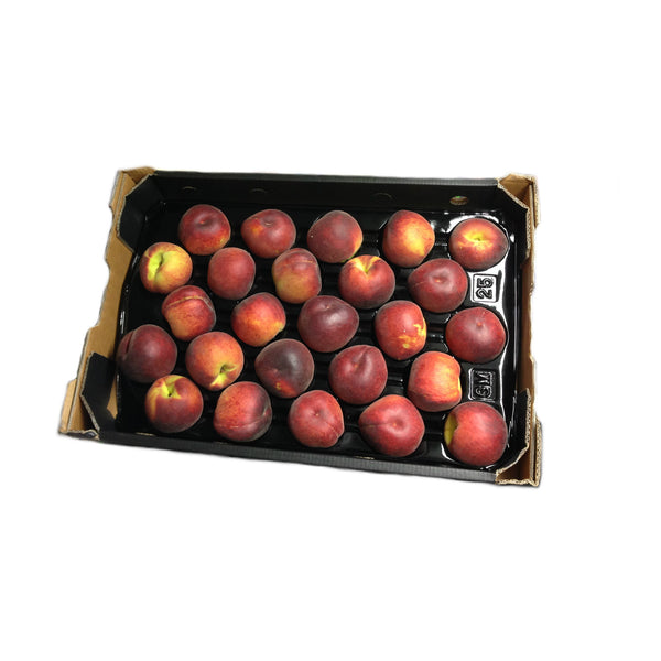 Peaches Yellow Large (tray 5kg) , Wholesale - HFM, Harris Farm Markets