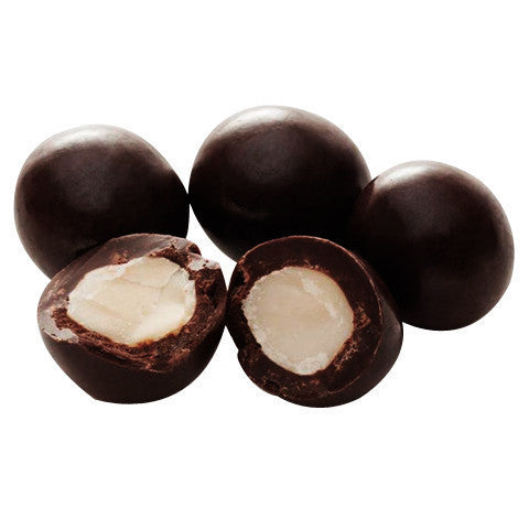 Macadamia Dark Chocolate Tub 200g , Grocery-Nuts - HFM, Harris Farm Markets  - 1