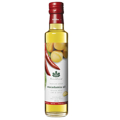 Brookfarm Macadamia Oil Infused Lime Chilli 250ml , Grocery-Oils - HFM, Harris Farm Markets  - 1