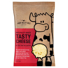 Cheddar - Tasty Shredded (400g) Mary Valley