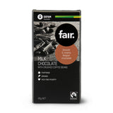 Oxfam Fair Belgian Milk Chocolate Crushed Coffee Bean 95g