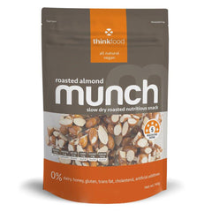 Roasted Almond 140g Thinkfood Munch , Grocery-Nuts - HFM, Harris Farm Markets
