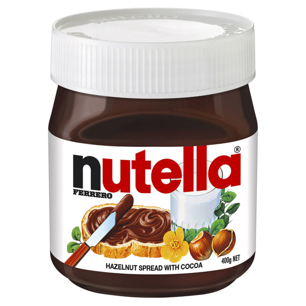 Nutella - Hazelnut Spread with Cocoa (400g)