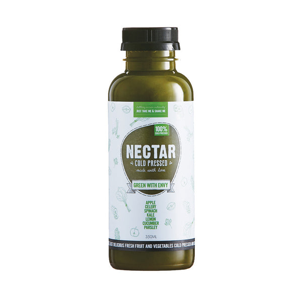 Nectar Cold Pressed Green With Envy 350ml , Frdg1-Drinks - HFM, Harris Farm Markets