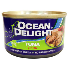 Ocean Delight Tuna Chilli 95g , Grocery-Can or Jar - HFM, Harris Farm Markets