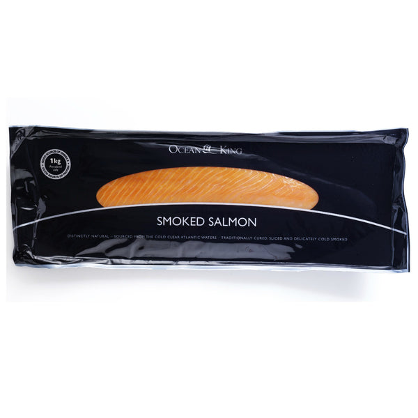 Ocean King Smoked Salmon 1kg , Frdg3-Seafood - HFM, Harris Farm Markets