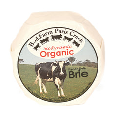 Brie Paris Creek Organic 200g , Frdg1-Cheese - HFM, Harris Farm Markets
