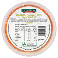 Harris Farm Feta Stuffed Pepperdews 250g