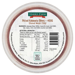 Harris Farm - Olives Kalamata Pitted (400g)