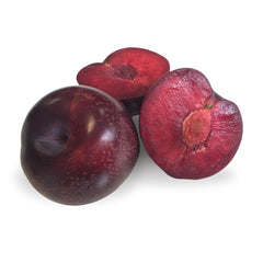 Plums Queen Garnett (each) , S07S-Fruit - HFM, Harris Farm Markets