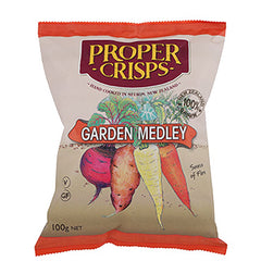 Proper Crisps Garden Medley Vegetable Chips | Harris Farm Online