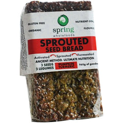 Spring Wellness Organic Sprouted Seed Pumpkin Turmeric 960g