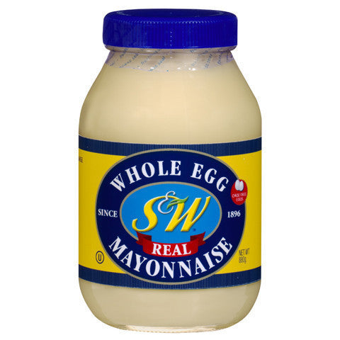 S&W Egg Mayo Original 880g , Grocery-Condiments - HFM, Harris Farm Markets